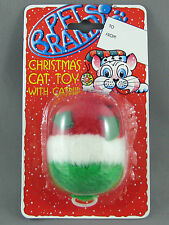 Cat Toy - Christmas Vibrating Mouse in Red, White & Green with Natural Catnip