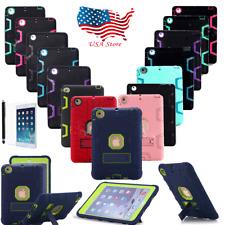 Heavy Duty Shockproof Hard Case Cover For Apple iPad 2/3/4 Air iPad Mini 1/2/3/4