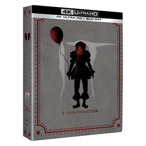 It Collezione 2 Film Confezione Steelbook 4K Ultra Hd Blu Ray Cofanetto 5 Dischi