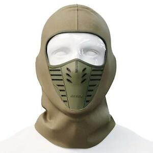 Men Women Bicycle Balaclava Face Mask With Wind Hat Cap Fleece Camping Mask