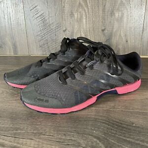 INOV8 F-LITE 195 Cross-Trainer Shoes US Womens 8.5 8 Black / Pink / Grey