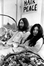 JOHN LENNON & YOKO ONO UNSIGNED PHOTO - 5669 - THE BEATLES