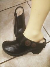 Sanita 38  black Mules