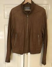 Vtg Victory Leather Italian Biker Jacket IT 48 UK 38