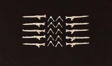 1/76th WWII German Weapons set 2, MG42  (qty 10) Wee Friends WBM76010
