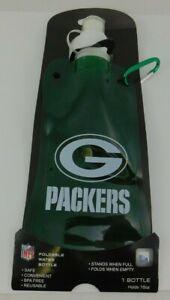 Green Bay Packers Foldable Water Bottle 16 oz Biking Hiking