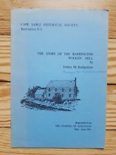 Story of the Barrington Woolen Mill, Cape Sable, Nova Scotia Canada Sheep farmin