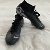 Nike Mercurial Superfly 7 Pro FGSoccer Cleats AT5382-001 Black Men's Size 7.5