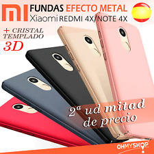 Funda Xiaomi Redmi 4X/Note 4X Carcasa Rígida Dura Hard Pc Case