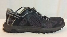 Salomon Contagrip Silver Black Shoes US Size 8.5