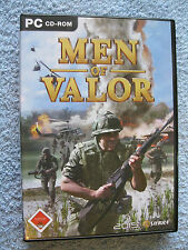PC CD ROM gioco MEN OF VALOR-the Vietnam War (PC, 2004, DVD-BOX) USK 18
