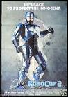 ROBOCOP 2 Original ONE SHEET Movie poster Peter Weller Robot