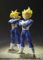 Dragon Ball S.H.Figuarts Super Saiyan Vegeta Trunks 2pcs SET Action figure