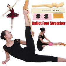 6x Holz Ballett Fuß Stretcher Bogen Enhancer Elastic Gymnastik Band Dance Set