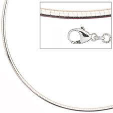 Halsreif 925 Sterling Silber 2,8 mm 50 cm Kette Halskette Silberhalsreif