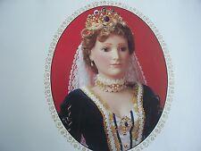 1986 $1500 Igor Carl FABERGE DOLL Alexandra Czarina Russia Full Porcelain NRFB
