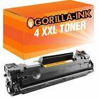 4 Toner XXL para HP Laserjet Pro P1100 P1102 P1104 W P1106 W P1108 CE285A 85A