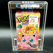 AWU - Rare Mini Comic - Pokemon Jiggly Puff  Vol. 14 Volume IGS Graded Sealed