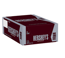 Hershey's Milk Chocolate Bars KING SIZE - 18 ct - Free Priority Shipping!