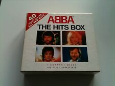 ABBA - THE HITS BOX - Original 3 CD Box © 1992 #BOX D1 Pickwick Music (40 Songs)
