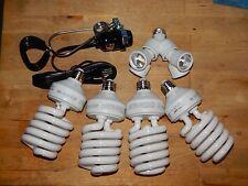 POWERFUL 600watt INDOOR CFL GROW KIT With 4 Jumbo Bulbs Best DEAL ON EBAY
