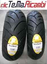 COPPIA PNEUMATICI 110 70 16S 150 70 14S DUNLOP SCOOTSMART BEVERLY 350 500