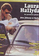 VSD - novembre 1983 - couverture johnny hallyday - numero 325