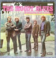 "THE MOODY BLUES⚠️Unplayed⚠️ 1969-12"" -On Boulevard de la Madeleine-LPD 256Y345-B"