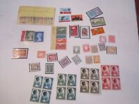 LOT OF MINT STAMPS & STAMP BLOCKS FROM AUSTRALIA, GERMANY & MORE
