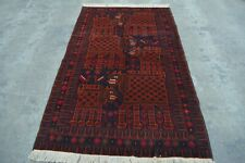 F2094 Gorgeous Handmade Tribal Pictorial Traditional Baluchi Rug 4 x 6'9 Feet