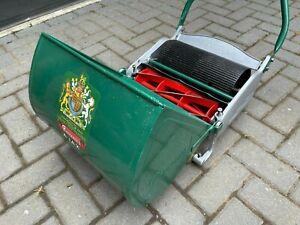 "Ransomes Ajax MK5 12"" Vintage Push Cylinder Lawn Mower"