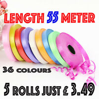 5mm Balloon Curling 50 METER Ribbon String Tie Balloon Ribon RIBBON Baloons