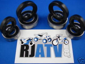 Kymco Mongoose 300 05-08 Front Wheel Bearings And Seals