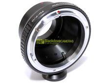 Anello adapter per ottiche Canon FD su corpi Pentax Q con innesto treppiedi.