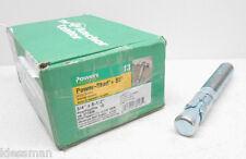 "BOX OF 10 POWERS POWER-STUD + SD1 HILLMAN 371958 3/4"" x 5-1/2"" WEDGE ANCHOR"