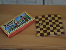 1/12 scale Accessories  Draughts Box And Board     HJ46