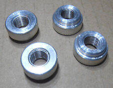 "1/8"" female NPT Weld Bung  Fitting Billet Aluminum Weld in  USA. MADE not import"