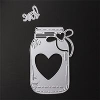 DIY Bottle Cutting Dies Stencil Scrapbooking Album Paper Card Embossing Craft