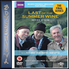 LAST OF THE SUMMER WINE -COMPLETE SERIES 31 & 32-  FINAL SERIES *BRAND NEW DVD**