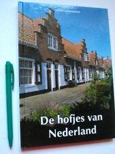 De HOFJES van NEDERLAND, Dijkstra, ALS NIEUW ! Atrium Cultuurgids + photo's