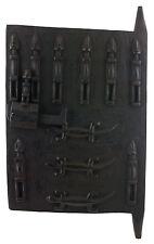 Porta Granaio di Dogon a mil Mali 65x37 cm - Persiane Box- Arte africano - 1069
