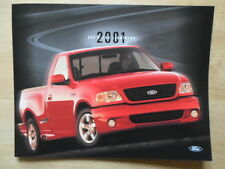FORD F-150 LIGHTNING orig 2001 USA Mkt sales leaflet brochure - SVT