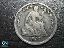 1857 P Seated Liberty Half Dime --  MAKE US AN OFFER!  #B7850