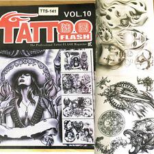 A4 page the professiona Tattoo Art  Design Flash Manuscript Sketch Book Supply