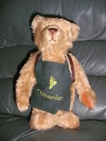 "Teddy Hermann bear WINZERBAR 10"" limited edition 228 of 500"