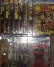 The Walking Dead #92-103, 2 variant covers - 13 in Lot CGC 9.8 & 2 CGC 9.6