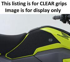 Honda MSX125 GROM 125 2016 R&G Racing Tank Traction Grip Pads EZRG332CL Clear