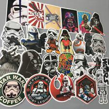 50pc/1SET Star Wars Darth Vader Sticker Decals for Skateboard Luggage Laptop Car