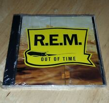 R.E.M. Out Of Time CD W2 26496 Sealed Has Case Cracks.