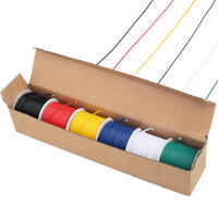 22 AWG Flexible PVC Wire Electric Wire 22 Gauge Coper Hook Up Cable 6 Color